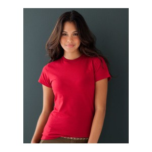 Anvil Organic Fitted Ladies Tee